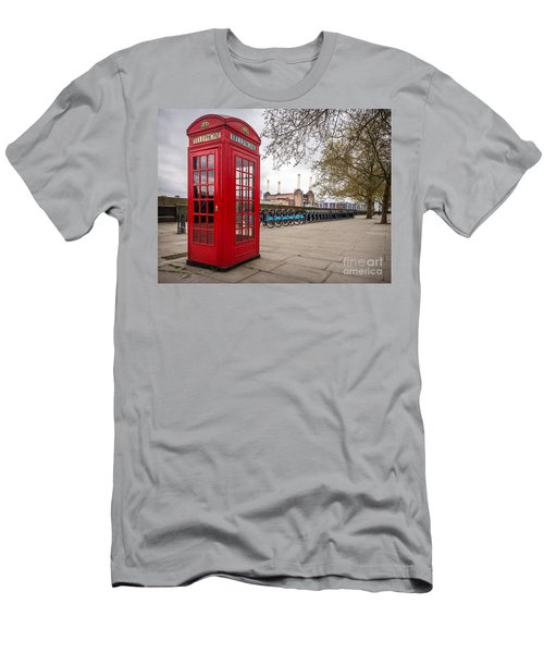 Battersea Phone Box Men's T-Shirt (Athletic Fit)