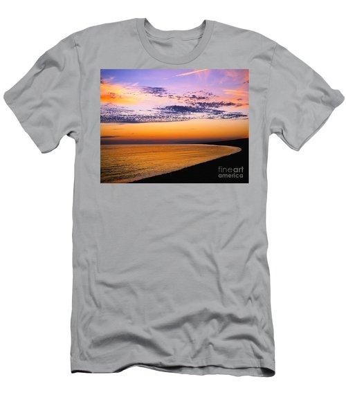 Bay Sunset Men's T-Shirt (Athletic Fit)
