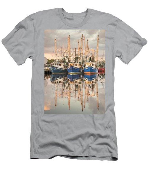 Bayou La Batre' Al Shrimp Boat Reflections 41 Men's T-Shirt (Athletic Fit)