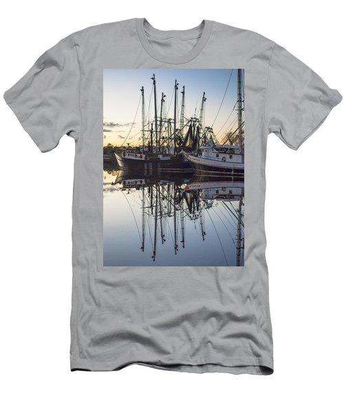 Bayou La Batre' Al Shrimp Boat Reflections 43 Men's T-Shirt (Athletic Fit)