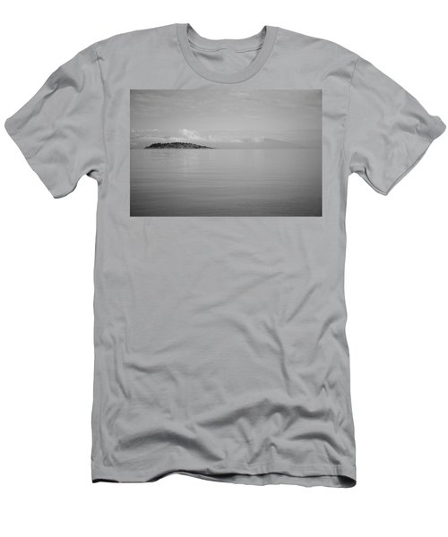 Be Still My Ocean  Men's T-Shirt (Slim Fit) by Roxy Hurtubise