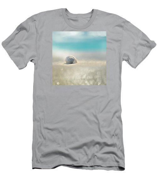 Beach House Men's T-Shirt (Slim Fit) by Laura Fasulo