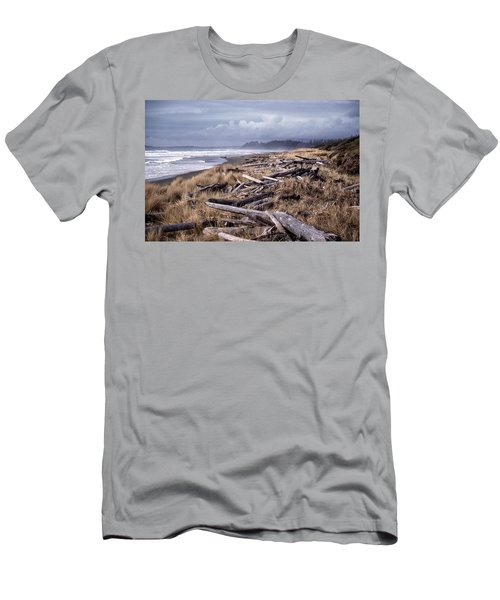 Beached Driftlogs Men's T-Shirt (Athletic Fit)