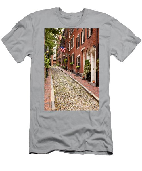 Men's T-Shirt (Athletic Fit) featuring the photograph Beacon Hill by Brian Jannsen