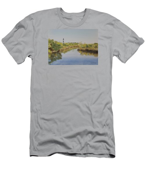 Beacon On The Marsh Men's T-Shirt (Athletic Fit)