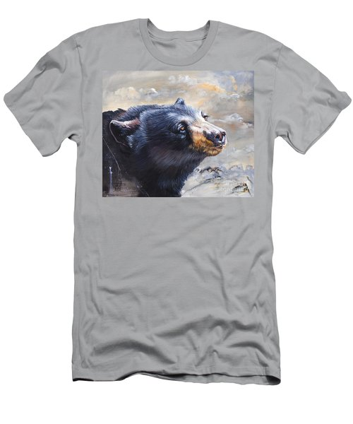 Four Winds Bear Men's T-Shirt (Athletic Fit)