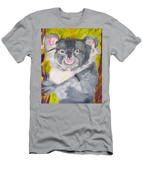 Koala Hug Men's T-Shirt (Athletic Fit)