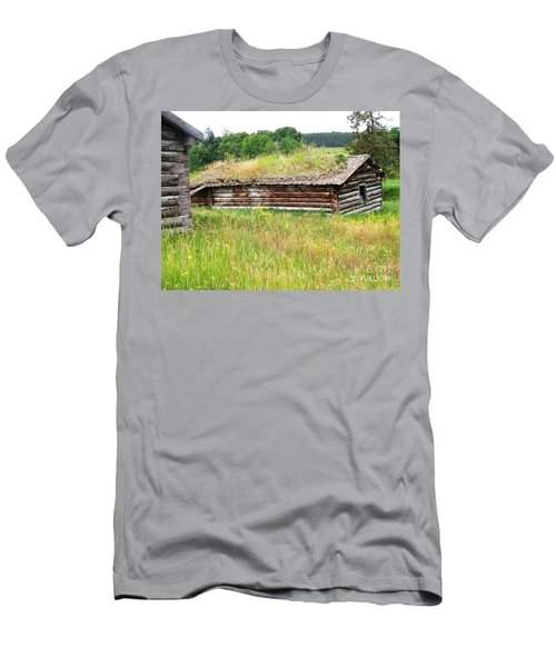 Men's T-Shirt (Athletic Fit) featuring the photograph Bear Springs by Ann E Robson