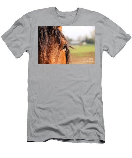 Beautiful Eye Men's T-Shirt (Athletic Fit)