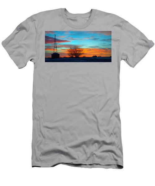 Beautiful Mornin' Panorama Men's T-Shirt (Athletic Fit)