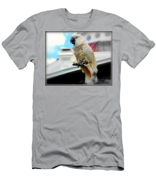 Beautiful Salmon-crested Cockatoo Men's T-Shirt (Athletic Fit)