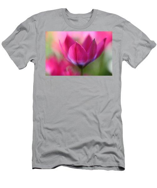 Beautiful Pink Men's T-Shirt (Athletic Fit)