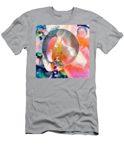 Beautiful Rose Marble - Autumn Light Men's T-Shirt (Athletic Fit)