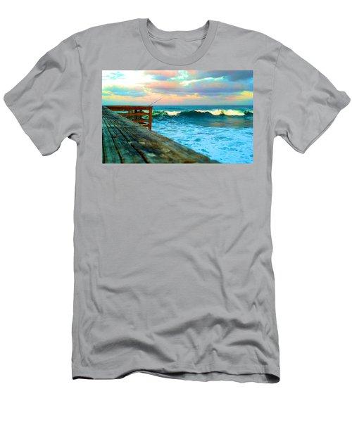 Beauty Of The Pier Men's T-Shirt (Athletic Fit)