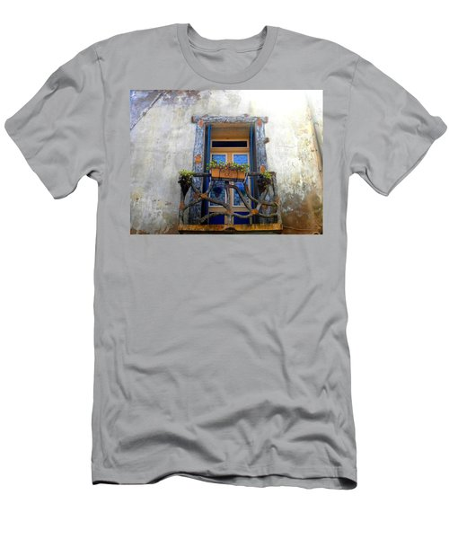 Behind The Window ... Men's T-Shirt (Athletic Fit)