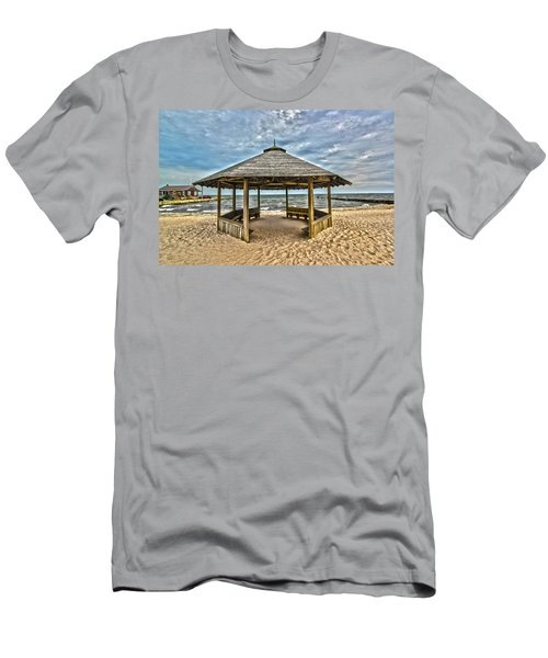 Bellport Ny - Gazebo Men's T-Shirt (Athletic Fit)