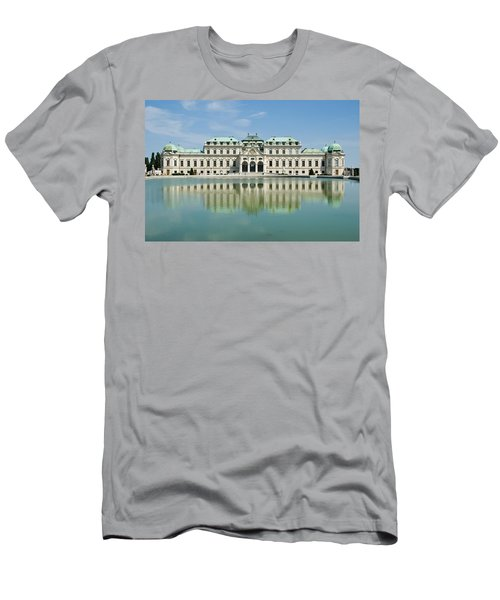 Men's T-Shirt (Slim Fit) featuring the photograph Belvedere Palace by Jeremy Voisey