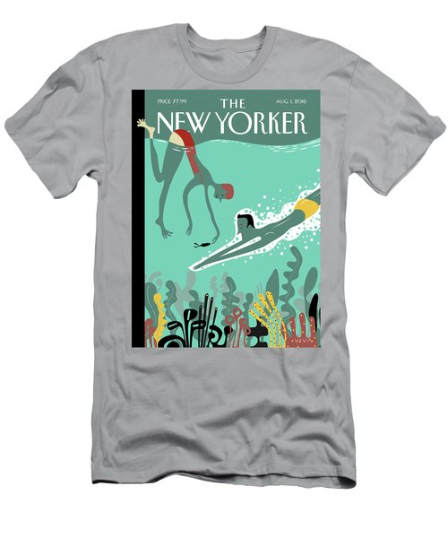 Beneath The Waves Men's T-Shirt (Athletic Fit)