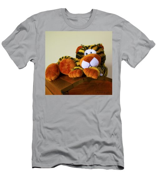 Bengal Tiger Abstract  Men's T-Shirt (Athletic Fit)