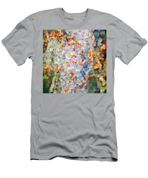 Berries Around The Tree - Abstract Art Men's T-Shirt (Athletic Fit)