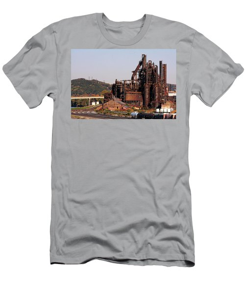 Bethlehem Steel # 8 Men's T-Shirt (Athletic Fit)