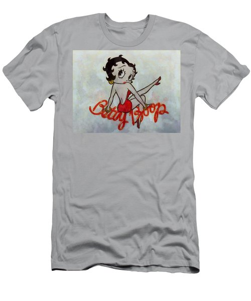 Betty Boop Men's T-Shirt (Athletic Fit)