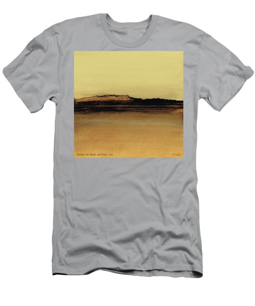 Between The Woods And Frozen Lake   Number Five Men's T-Shirt (Athletic Fit)