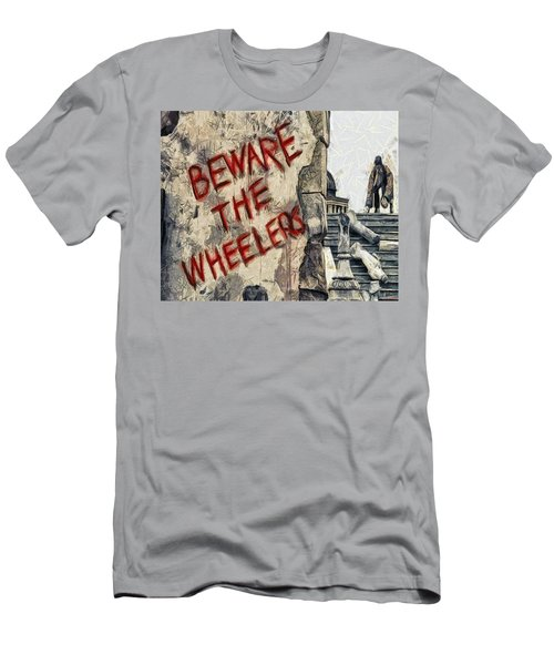 Beware The Wheelers Men's T-Shirt (Athletic Fit)