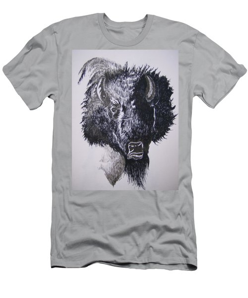 Big Bad Buffalo Men's T-Shirt (Athletic Fit)
