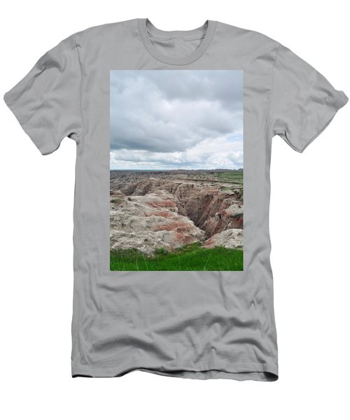 Big Badlands Overlook Men's T-Shirt (Athletic Fit)