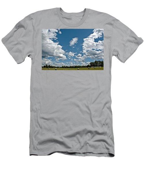 Big Sky Men's T-Shirt (Slim Fit) by Cheryl Baxter