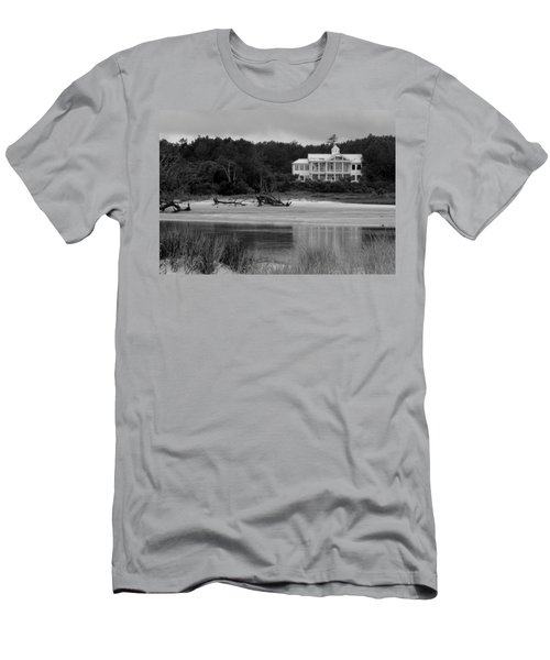 Big White House Men's T-Shirt (Athletic Fit)