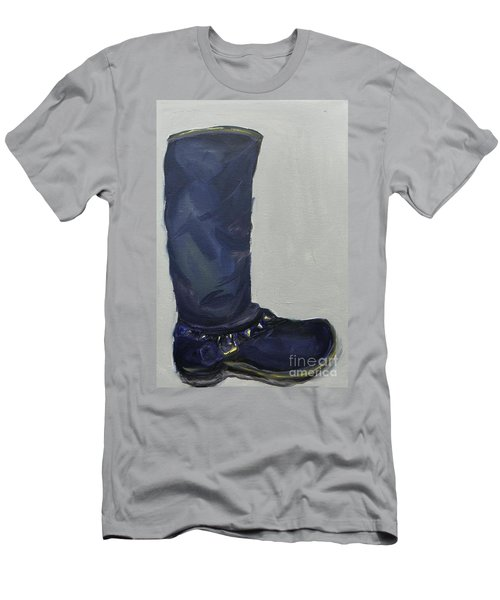 Biker Boot Men's T-Shirt (Athletic Fit)