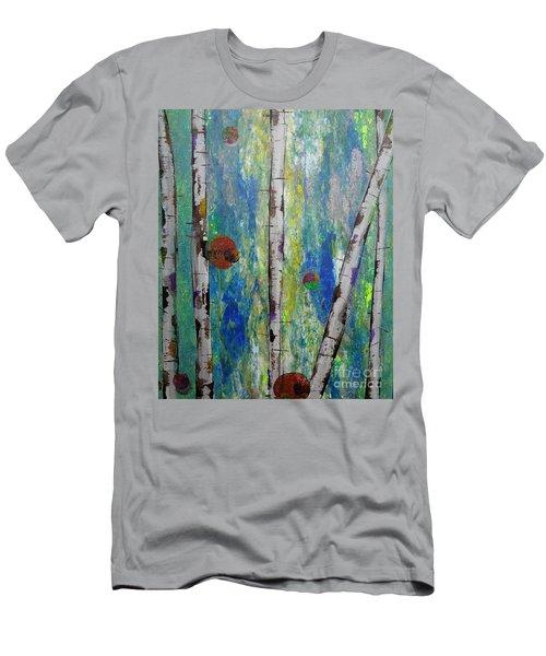 Birch - Lt. Green 4 Men's T-Shirt (Athletic Fit)