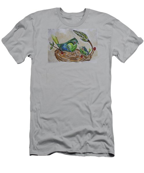 Bird Talk Men's T-Shirt (Athletic Fit)