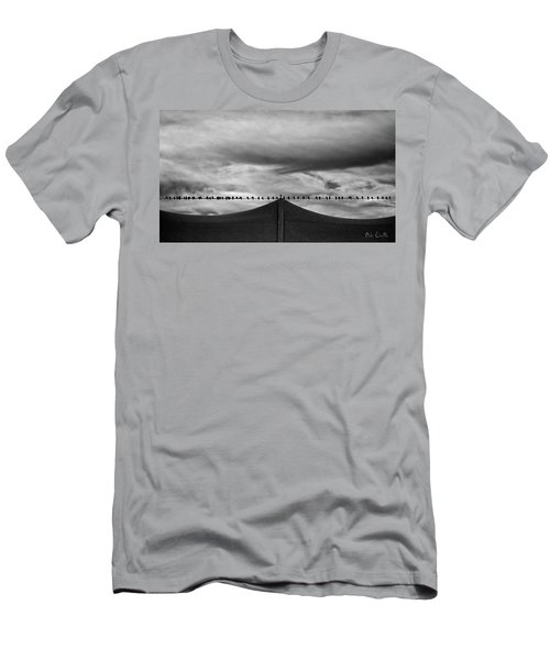 Men's T-Shirt (Athletic Fit) featuring the photograph Birds by Bob Orsillo