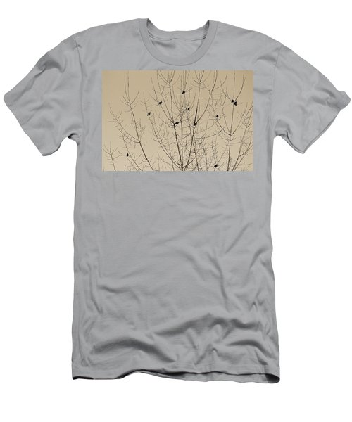 Birds Gather Men's T-Shirt (Athletic Fit)