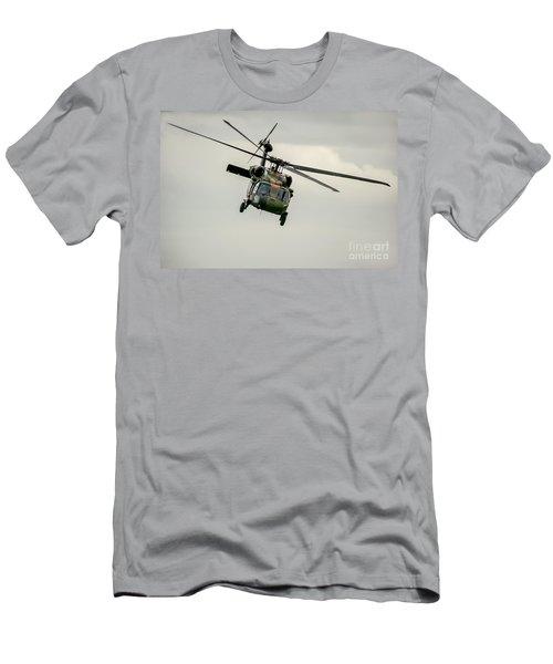 Black Hawk Swoops Men's T-Shirt (Athletic Fit)