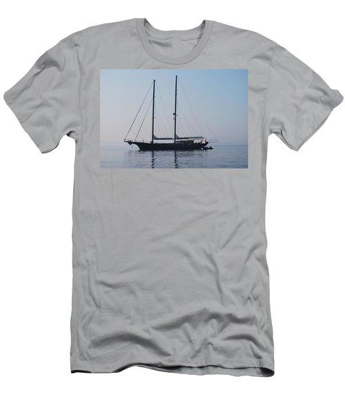 Black Ship 1 Men's T-Shirt (Athletic Fit)
