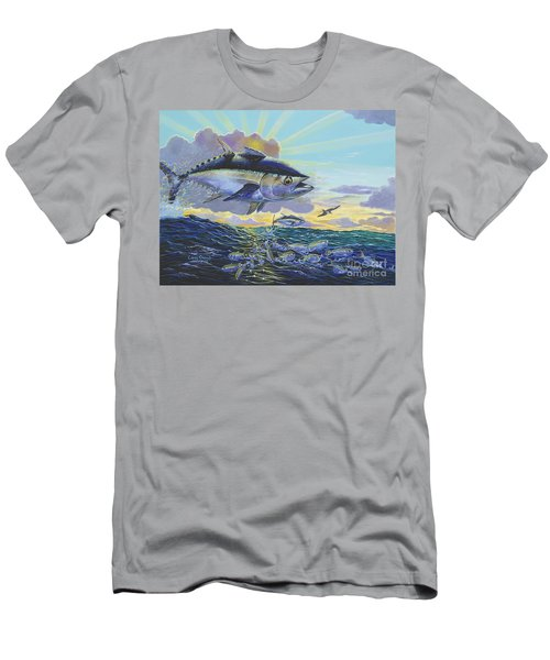 Blackfin Bust Off00116 Men's T-Shirt (Athletic Fit)