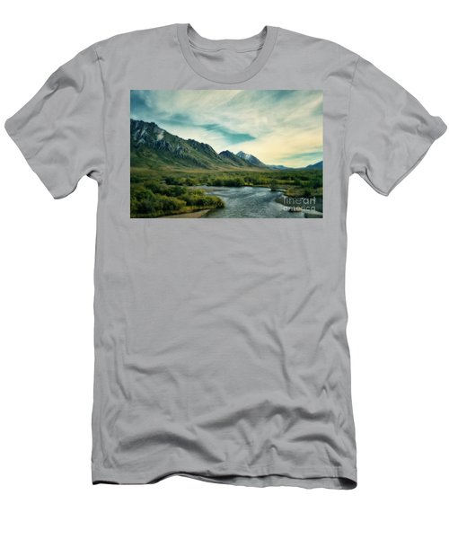 Blackstone River  Men's T-Shirt (Athletic Fit)