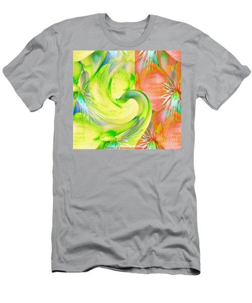 Bloom Dance  Men's T-Shirt (Athletic Fit)