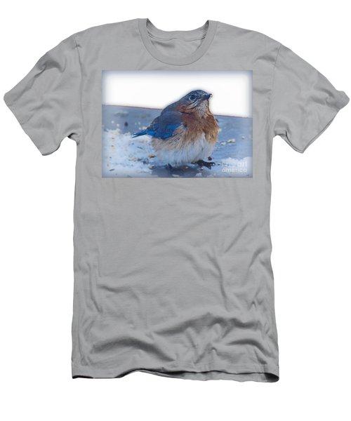 Blue Bird 4 Men's T-Shirt (Athletic Fit)
