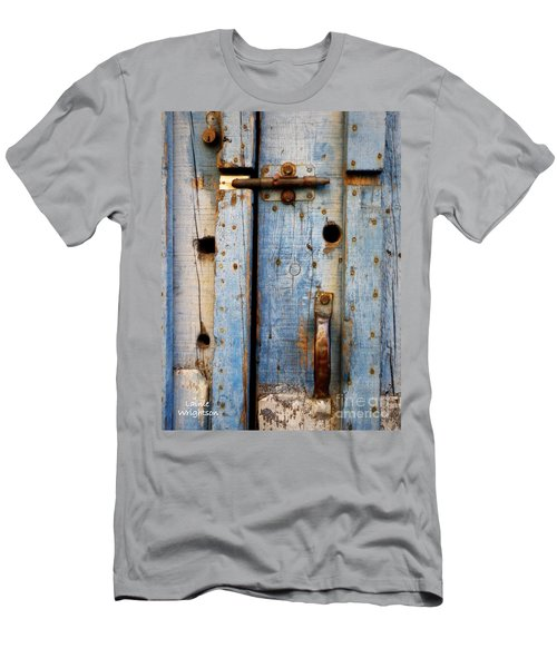 Blue Door Weathered To Perfection Men's T-Shirt (Athletic Fit)