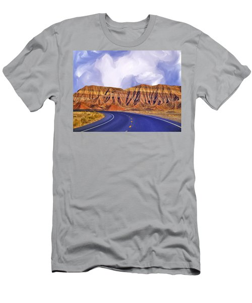 Blue Highway Men's T-Shirt (Athletic Fit)