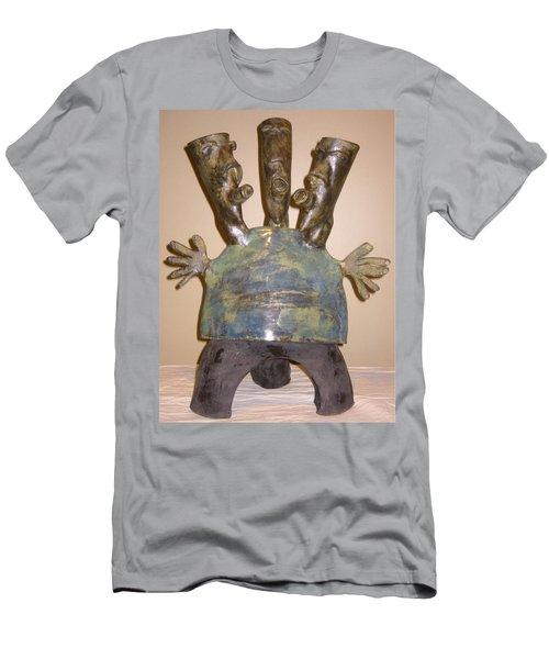 Blue Man - Group Men's T-Shirt (Slim Fit) by Mario Perron