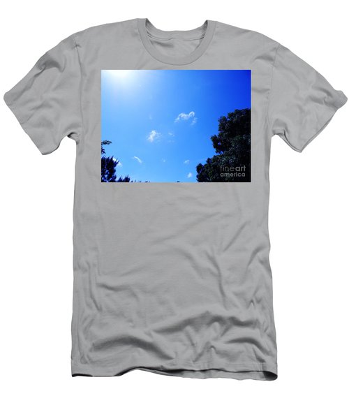 Blue Sky And Sunshine Men's T-Shirt (Athletic Fit)