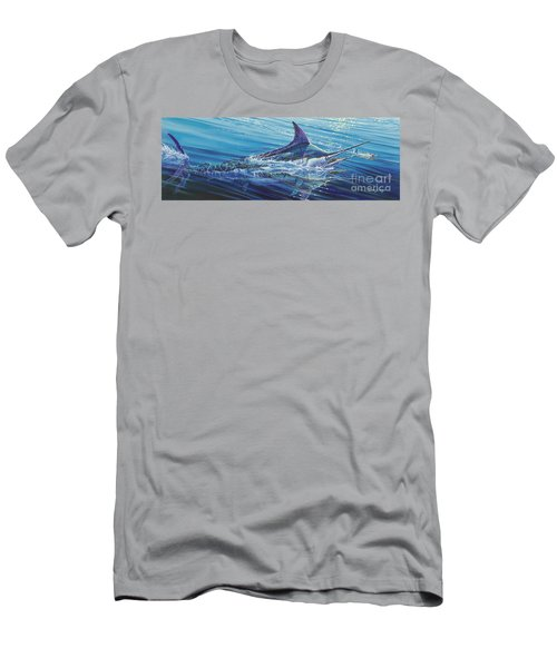 Blue Tranquility Off0051 Men's T-Shirt (Athletic Fit)
