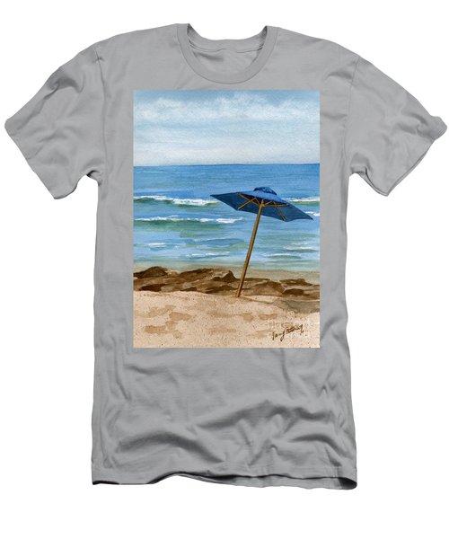 Blue Umbrella Men's T-Shirt (Athletic Fit)