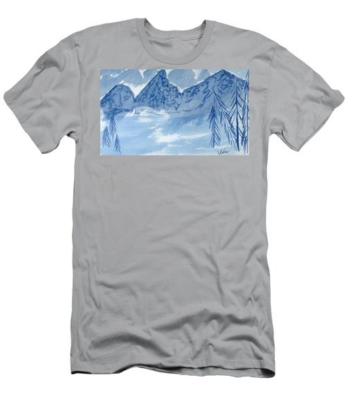 Blue View #2 Men's T-Shirt (Athletic Fit)